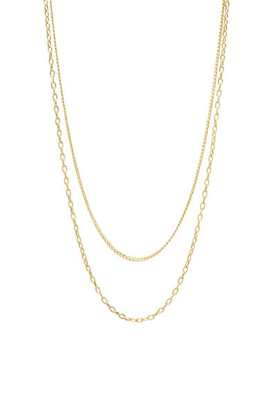 Zoë Chicco, Double Layerd Curbed Necklace