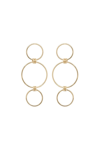 Zoë Chicco, Mixed Circle Earrings