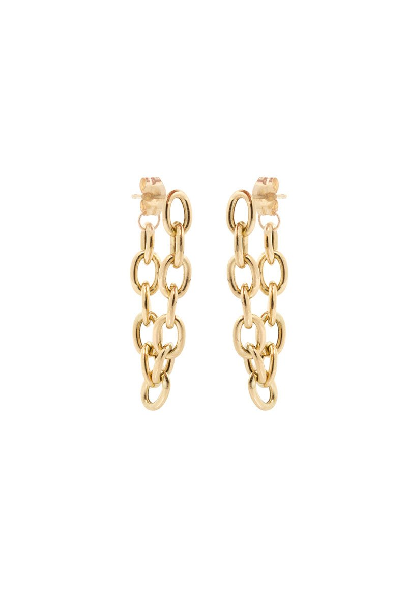 Zoë Chicco, Chainlink Hoop Earrings