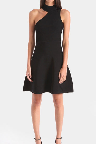 CUSHNIE, Vika Knit Flare Dress