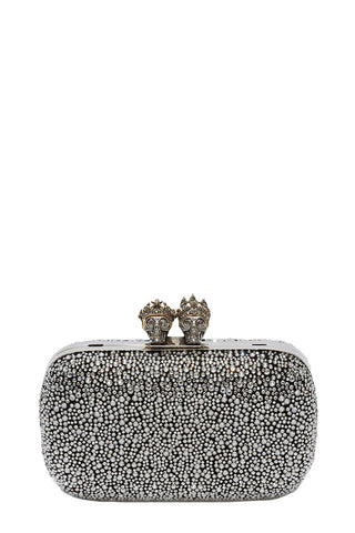Alexander McQueen, Queen & King Embellished Clutch