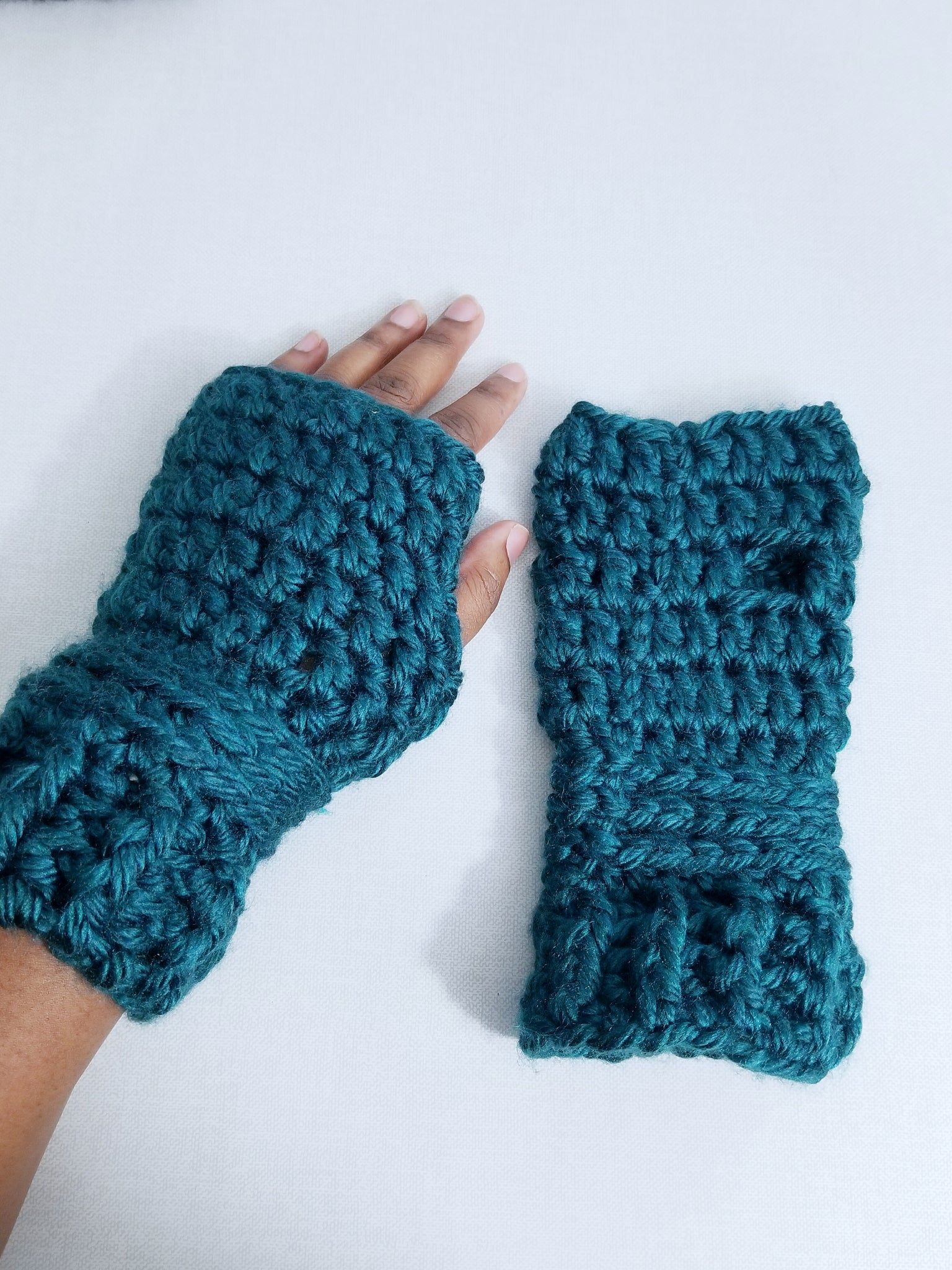 Fingerless Mittens --Ready to Ship