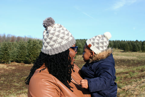 Mommy and Me beanie