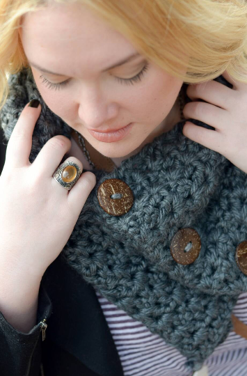 Boston Harbor Cowl Scarf