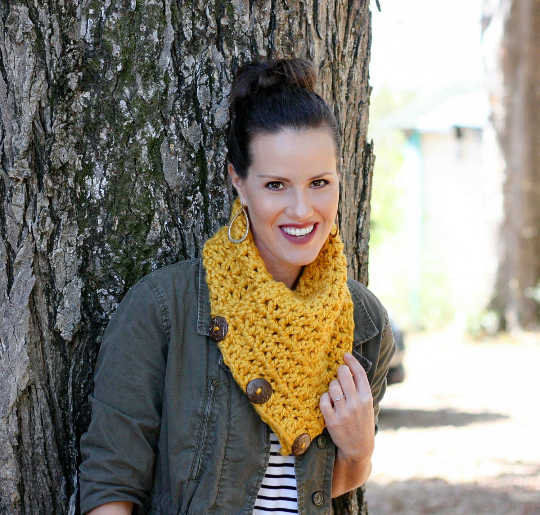 Boston Harbor Cowl Scarf-- Ready to Ship