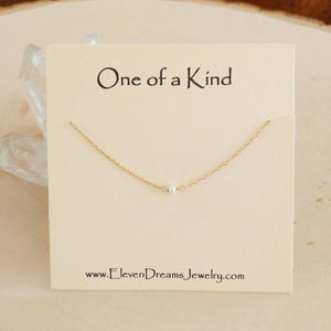 """One of a Kind"" pearl neckalce"