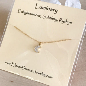 LUMINARY Moon Necklace