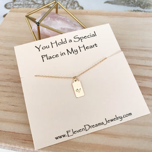 Special Place in My Heart Necklace