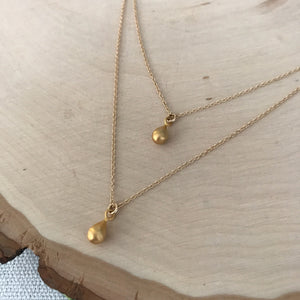 Anastasia Teardrop Necklace