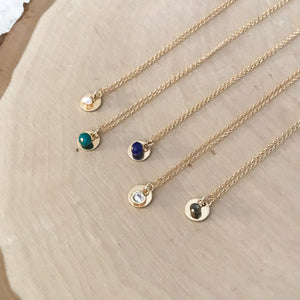 Bella Gemstone Necklace