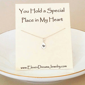 """Special Place in My Heart"" Necklace"