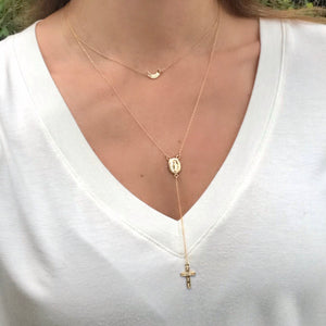 Modern ROSARY Necklace