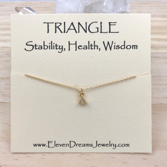 STABILITY Dainty Sparkle Necklace