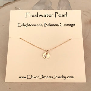 Bella BALANCE + COURAGE Pearl Necklace