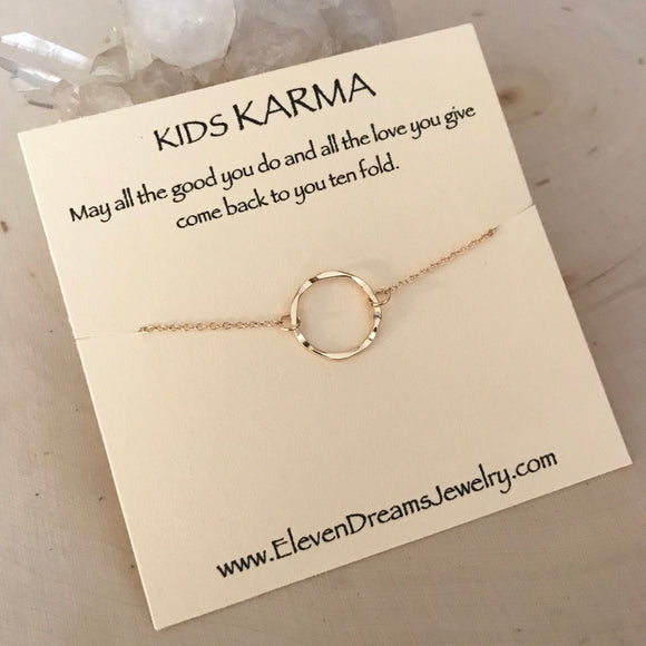 Kids KARMA Necklace