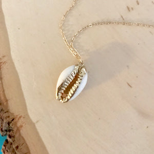 Shell We Dance Cowrie Necklace