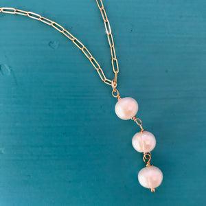 Ella Pearl Necklace