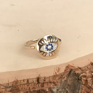 PROTECTION Evil Eye Ring