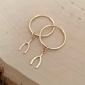 WISHBONE Sophia Hoops