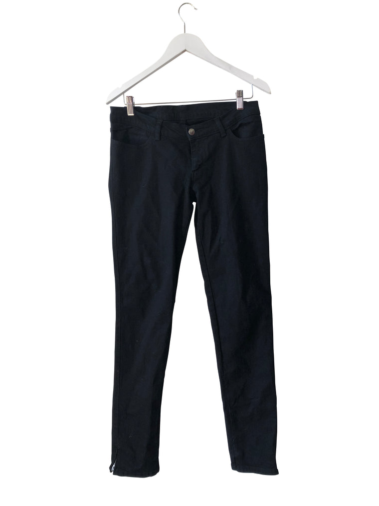 Ksubi Black Zip Ankle Jeans