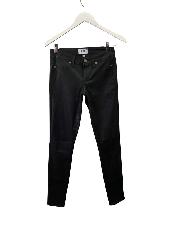 Paige Jeans - Black Coated