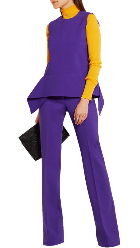 Victoria Beckham Stretch Flare Trousers