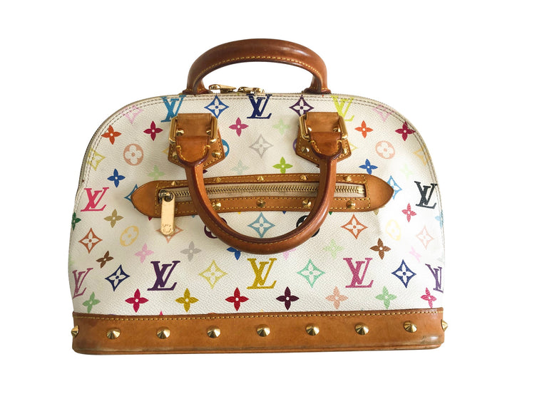 Louis Vuitton Alma Multi Colour Bag
