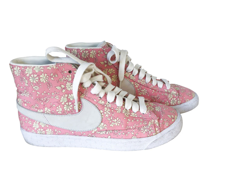 Ltd Edition Liberty Print Nike Blazers