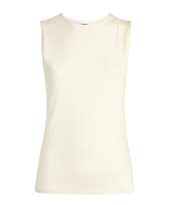 L'Agence Cream Tank - current season