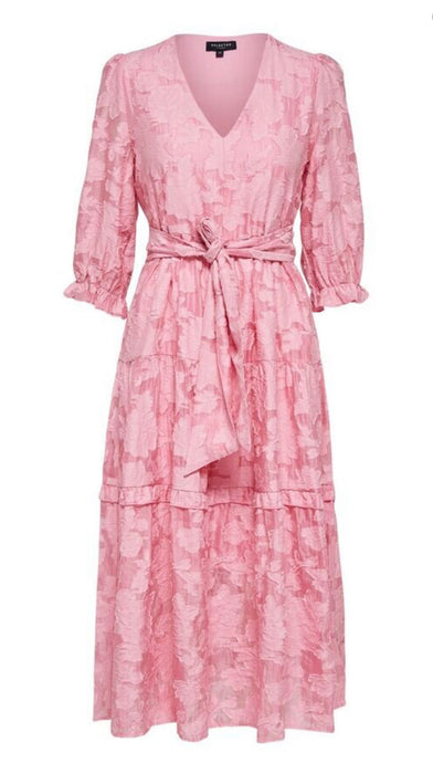 Selected Femme Rose Print Sadie Dress - NWT