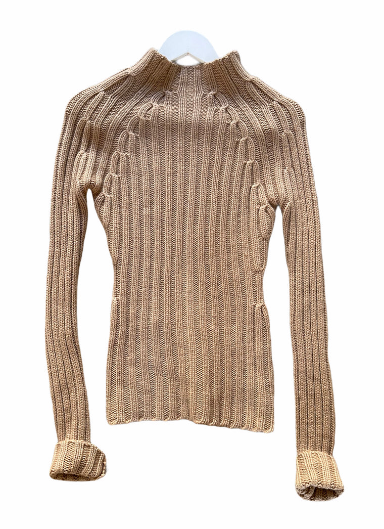 Donna Karen (mainline) Double Ply Luxury Cashmere Fitted Jumper