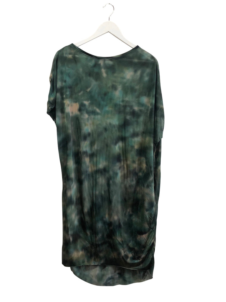 Rabens Saloner Marbled Asymmetric Dress _ reserved