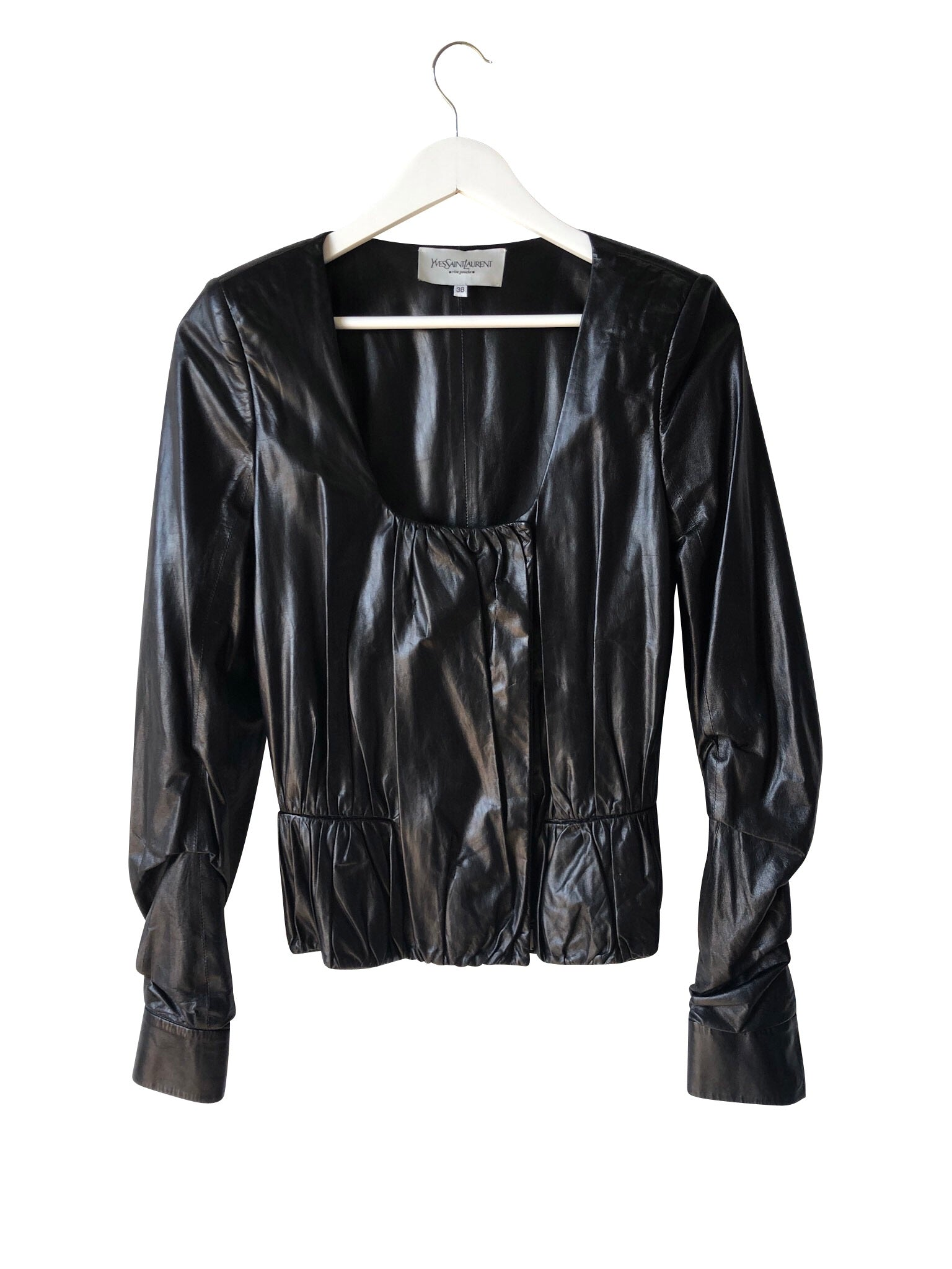 Yves Saint Laurent Leather Top