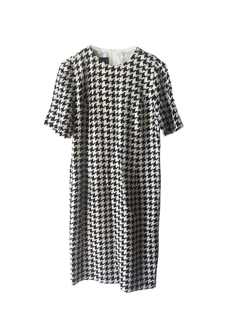 Vintage Louis Feraud Houndstooth Dress