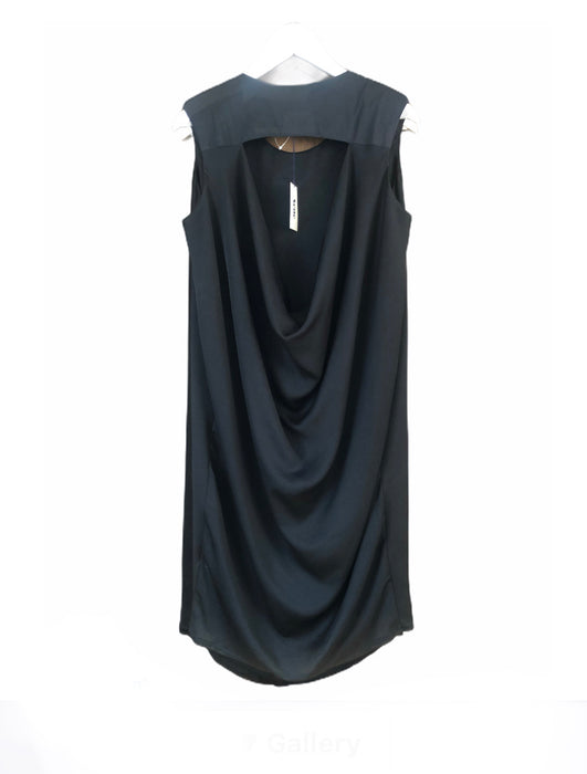 Acne Black Drape Back Dress - NWT