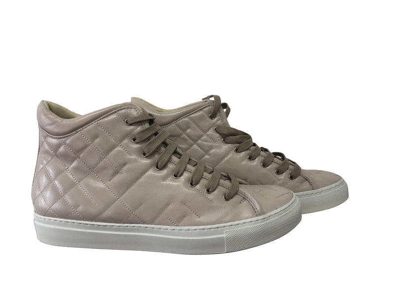 Rupert Sanderson Quilted Leather Hi Tops - NIB