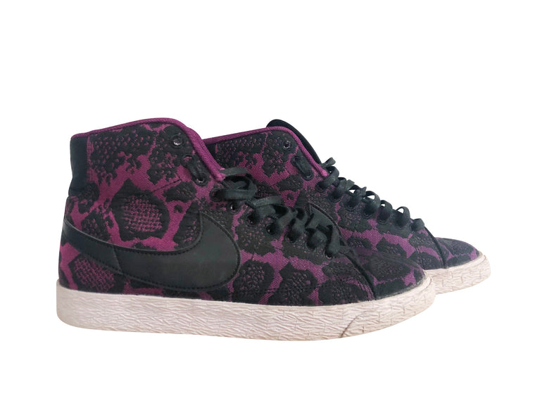 Ltd Edition Nike Blazers - Black Lace