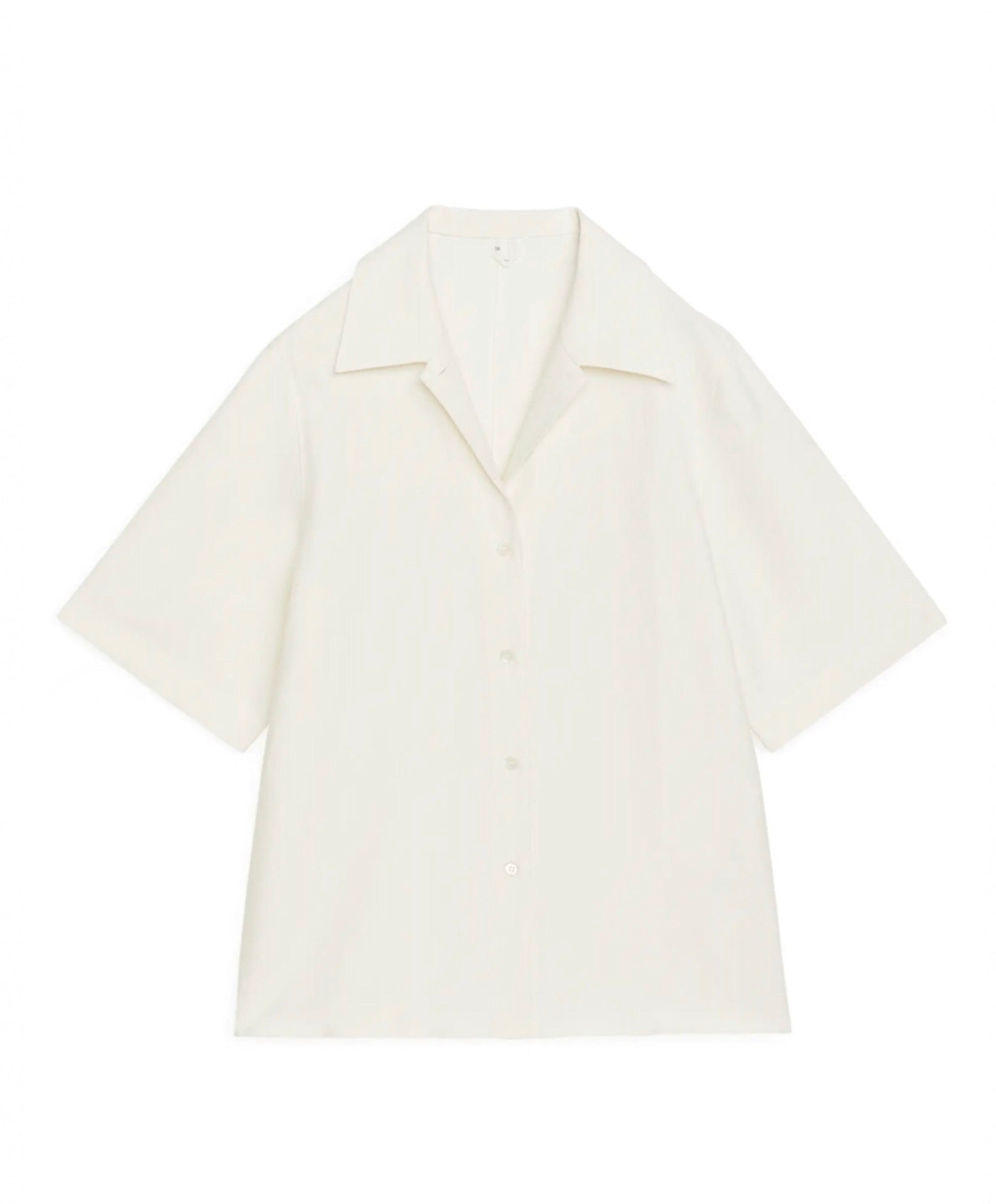 Arket Cream Shirt