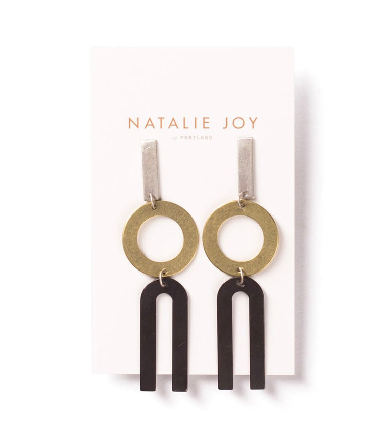Natalie Joy Earrings - New