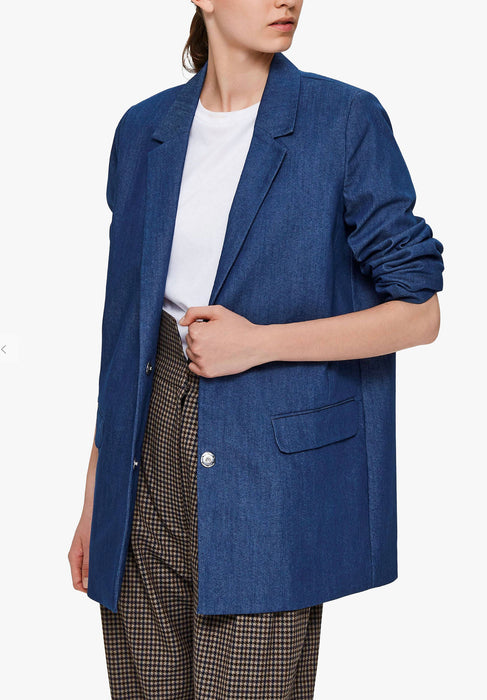 Selected Femme Denim Blazer - NWT