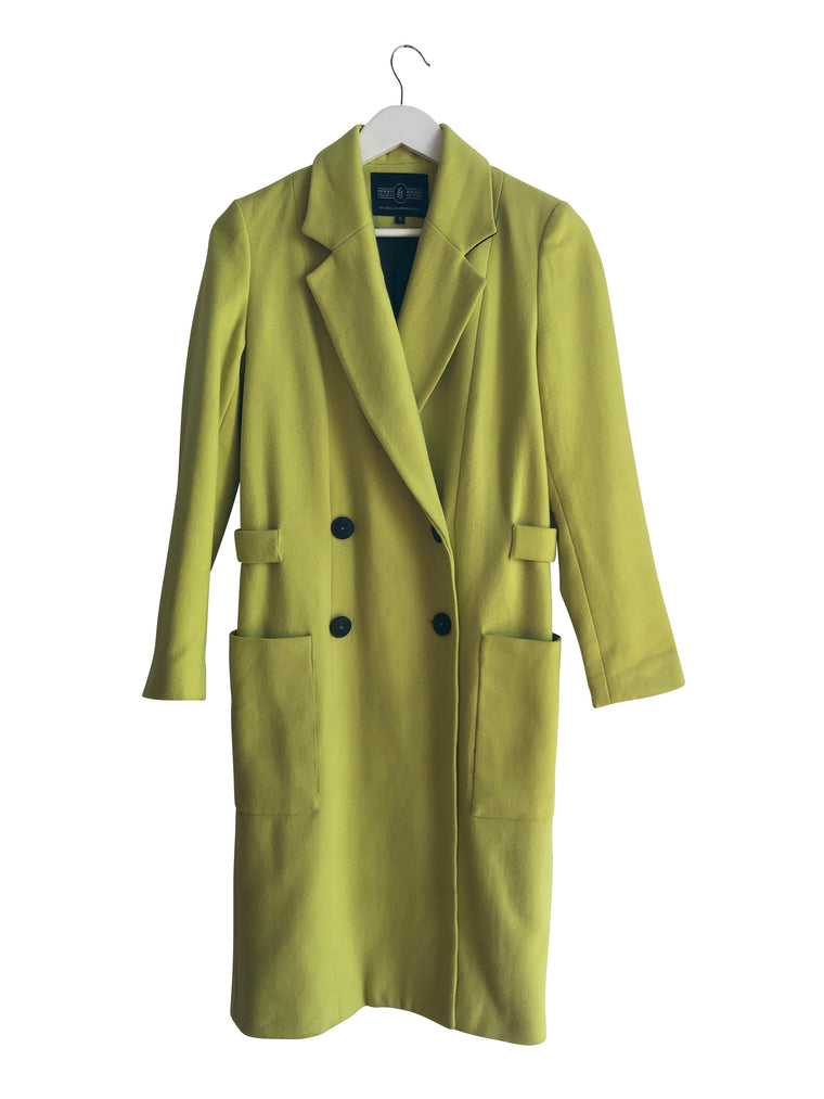 Hearts and Hands Lime Baxter Coat