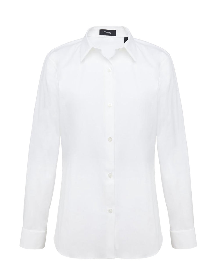 White Cotton Classic Theory Shirt - NWT Current season
