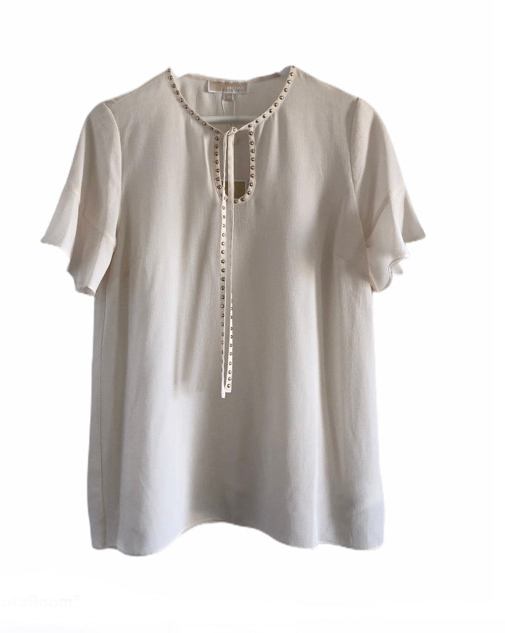 Michael Kors Cream Top - NWT