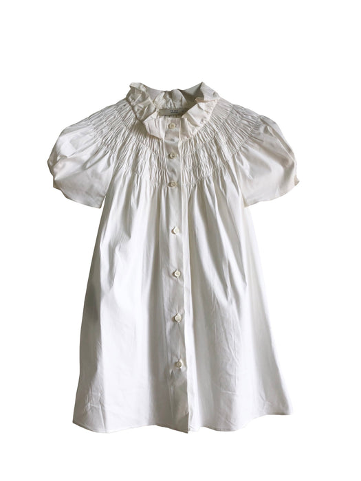 Prada White Cotton Blouse