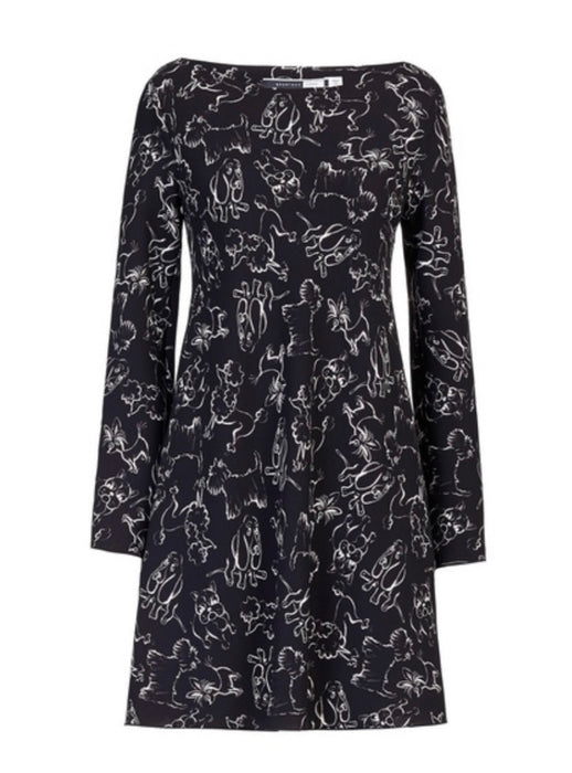 Sportmax Code Dog Sketch Dress - NWT