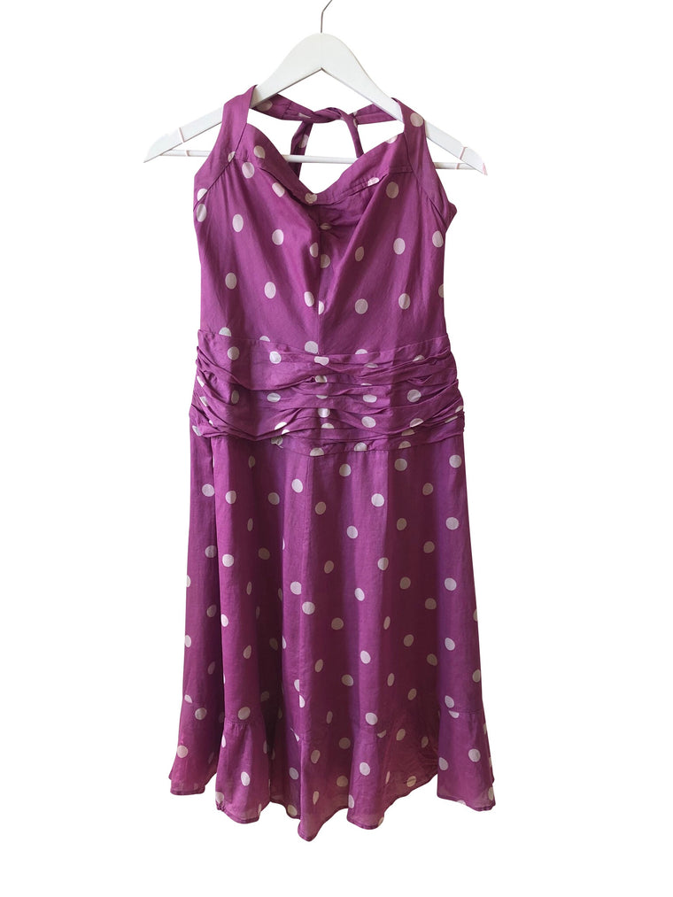 Marc Jacobs Polka Dot Halter Neck Sundress