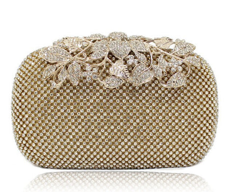 Rhinestone Evening Bag Clutch