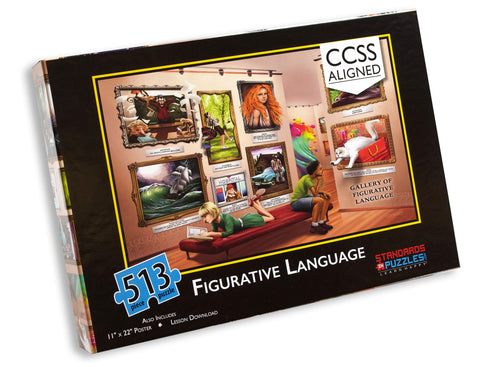 Figurative Language Jigsaw Puzzle