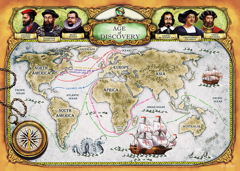 Age of Discovery Jigsaw Puzzle