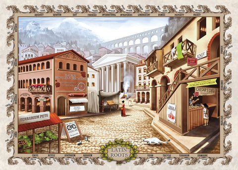 Latin Roots Jigsaw Puzzle